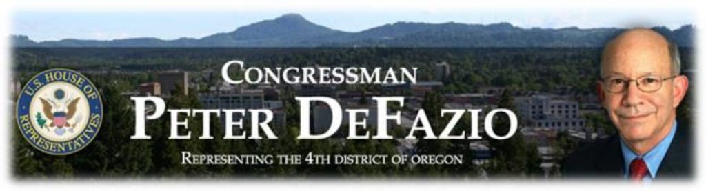 Rep. Peter DeFazio to Host Healthcare Town Hall Meetings