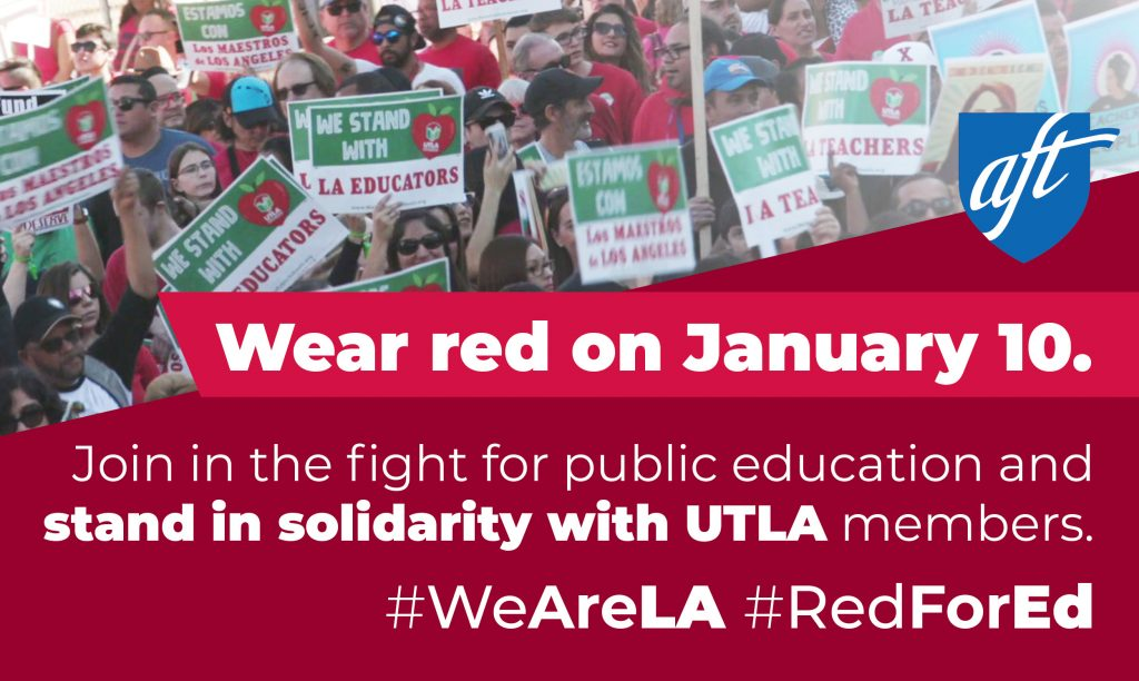 #WeAreLA - UTLA Strike Solidarity